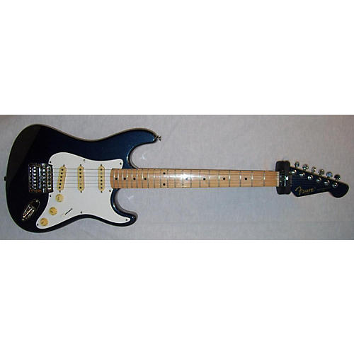 In Store Used Used FAME MASTERCASTER Metallic Blue Solid Body Electric Guitar