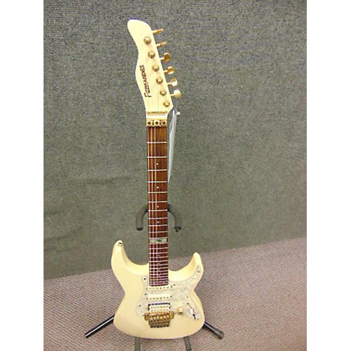 In Store Used Used Fernandez 1985 Arc Du Ceil Antique White Solid Body Electric Guitar