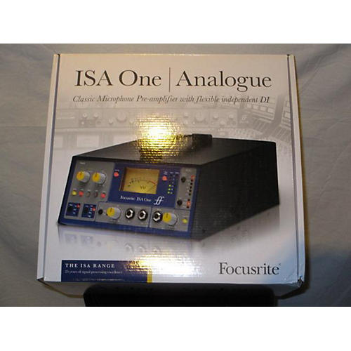 In Store Used Used Focus Isa One Analogue Microphone Preamp