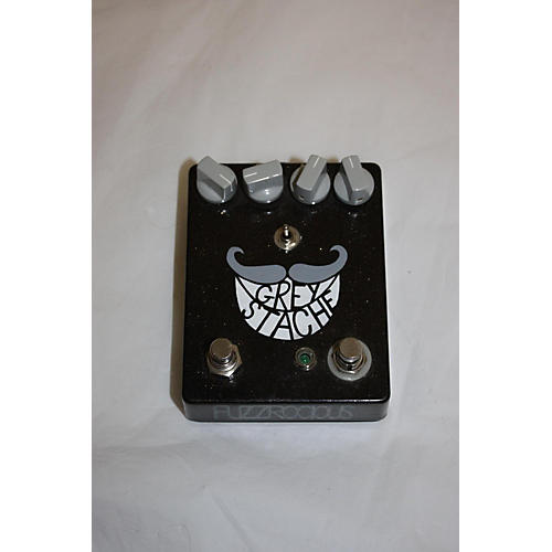 In Store Used Used Fuzzrocious Grey Stache Effect Pedal