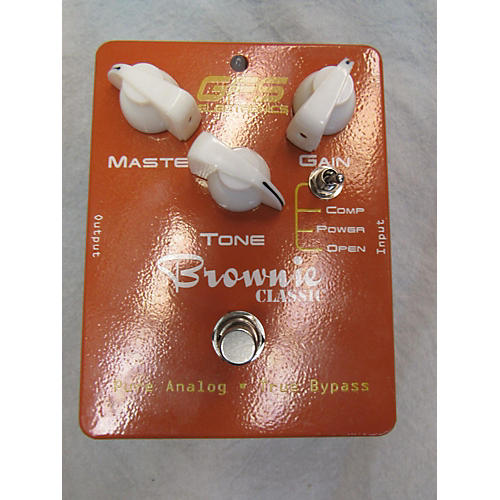 In Store Used Used GFS Brownie Effect Pedal