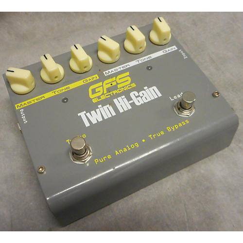 In Store Used Used GFS TWIN HI GAIN Effect Pedal