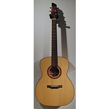 Used Galloup School Of Lutherie Fingerstyle Natural Acoustic Guitar