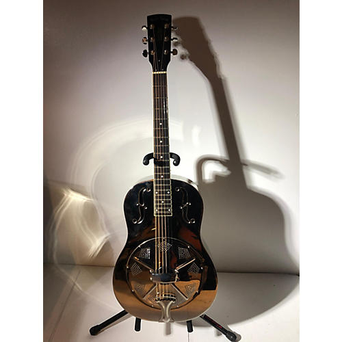 In Store Used Used Goldtone Paul E Beard Sinature Nickle Plated Nickle Resonator Guitar