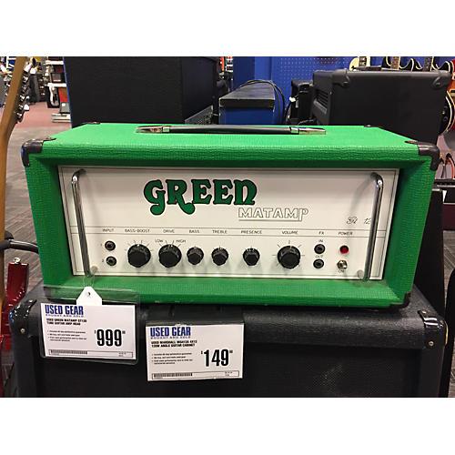 used green matamp gt120 tube guitar amp head guitar center. Black Bedroom Furniture Sets. Home Design Ideas