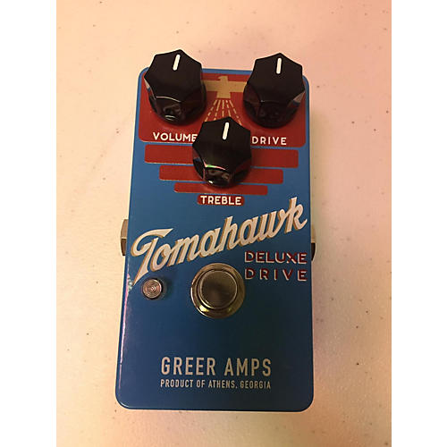 In Store Used Used Greer Amps Tomahawk Deluxe Drive Effect Pedal
