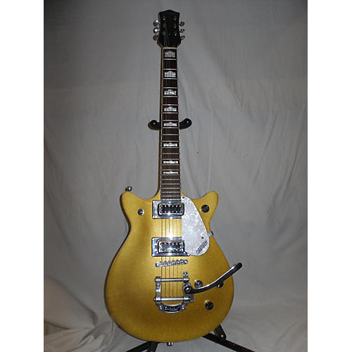 In Store Used Used Gretsch G5441t Double Jet Gold Solid Body Electric Guitar