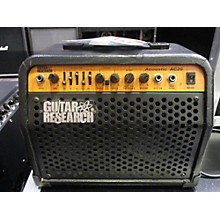 Used Guitar Research Acoustic Ac20 Guitar Combo Amp