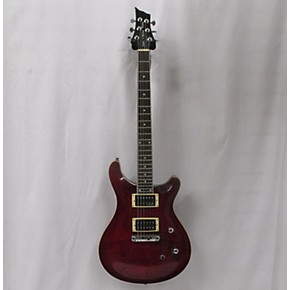 In Store Used Used HARLEY BENTON DELUXE DOUBLE CUTAWAY Trans Red Solid Body  Electric Guitar