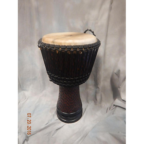 In Store Used Used Hand Carved X8 Djembe