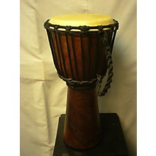 "Used Hand Made Djembe 8"" Real Skin Djembe Djembe"