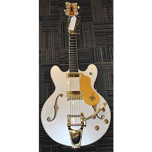 In Store Used Used Hanson Chicagoan White Hollow Body Electric Guitar