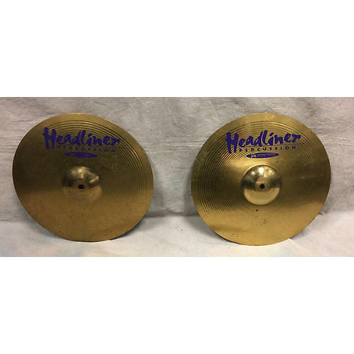 In Store Used Used Headliner Percussion 14in Hi Hats Cymbal