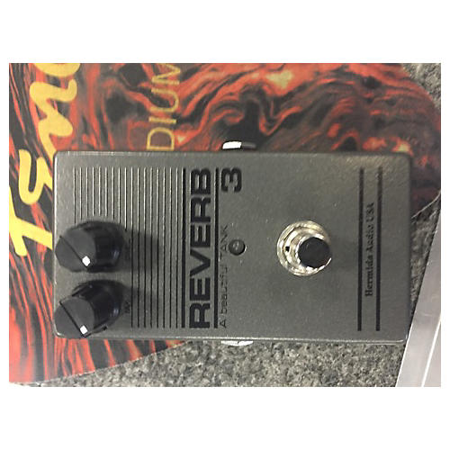 In Store Used Used Hermida Audio USA Reverb 3 Effect Pedal