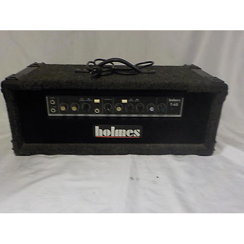 In Store Used Used Holmes T-60 Solid State Guitar Amp Head