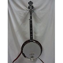 Used Huber Workhorse Natural Banjo