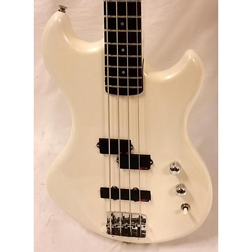 In Store Used Used Hurricane By Morris Equinox Bass 2 White Pearl Electric Bass Guitar