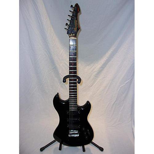 In Store Used Used Hurricane By Morris Equinox Black Solid Body Electric Guitar