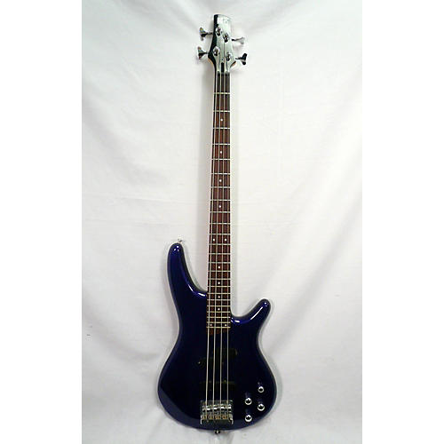 In Store Used Used Ibanez SOUNDGEAR SR300DX Blue Electric Bass Guitar