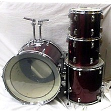 Used Internationale 4 piece CB700 Wine Red Drum Kit
