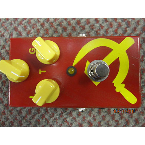 In Store Used Used JAM RED MUCK Effect Pedal