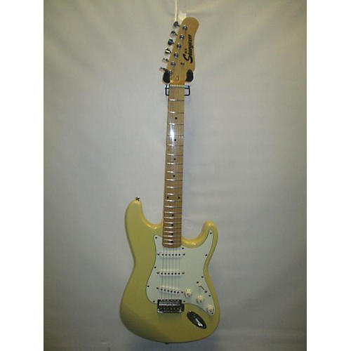 In Store Used Used JCX Stargazer Off White Solid Body Electric Guitar