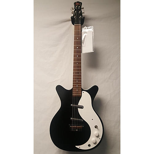 In Store Used Used JERRY JONES SHORTHORN Black And White Hollow Body Electric Guitar