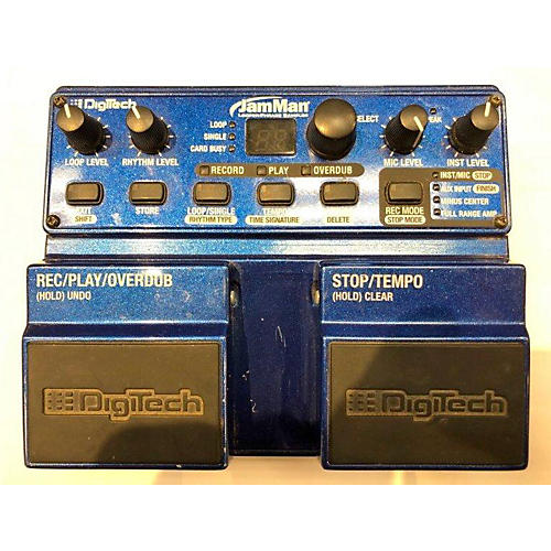 In Store Used Used Jamman DigiTech Pedal