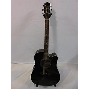used jasmine by takamine es 31c black acoustic electric guitar guitar center. Black Bedroom Furniture Sets. Home Design Ideas
