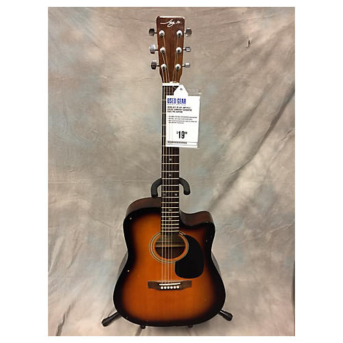 In Store Used Used Jay JR JAY-JRT/TS 2 Color Sunburst Acoustic Electric Guitar