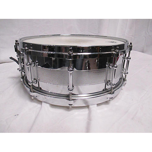 In Store Used Used Jeff Ocheltree 5.5X14 Heavy Metals 22 Drum Chrome