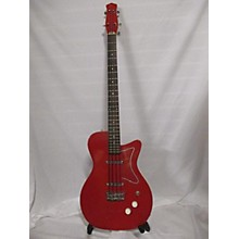 Used Jerry Jones Single Cut Red Electric Bass Guitar