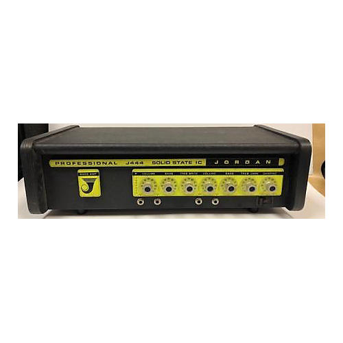 In Store Used Used Jordan J444 Solid State IC Bass Amp Head