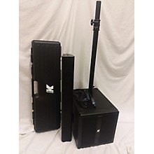 Used K-ARRAY BLUELINE KB1 Sound Package