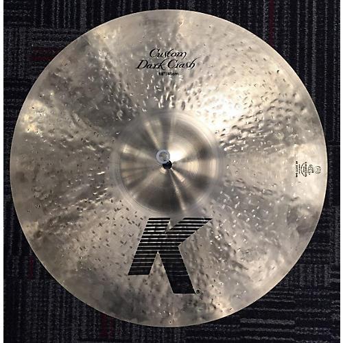 In Store Used Used K Custom 18in Cutom Dark Crash Cymbal