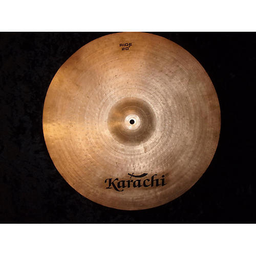 In Store Used Used KARACHI 20in RIDE Cymbal