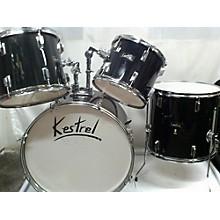 Used KESTREL 4 piece 4 PIECE SET Black Drum Kit
