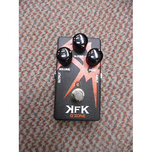 In Store Used Used KFK Q Zone Wah Effect Pedal