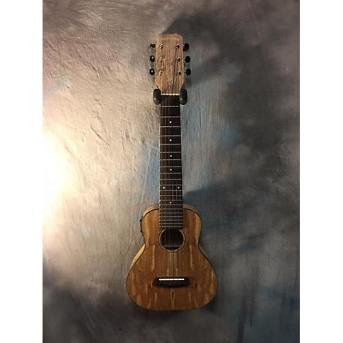 In Store Used Used Kanile'a GL6-mAG-EQ Spalted Maple Ukulele