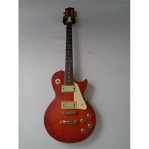 In Store Used Used Karera Single Cut Cherry Sunburst Solid Body Electric Guitar