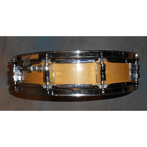 In Store Used Used Keller  3X14 Maple Snare Drum Factory Direct Hardware Natural
