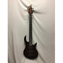 Used Kiesel Icon 5 String Bass Deep Sunset Burst Quilt Electric Bass Guitar