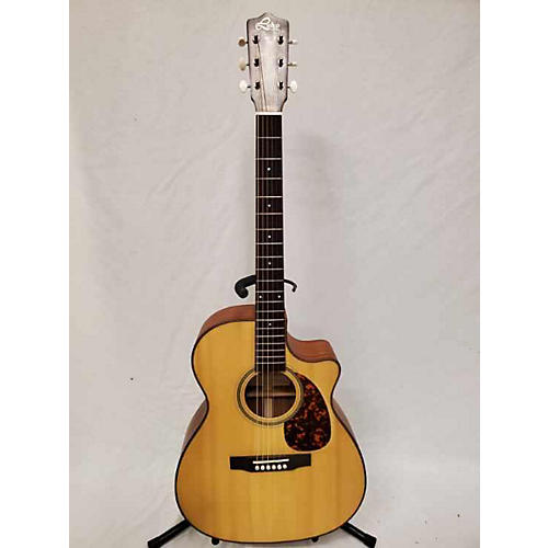 In Store Used Used LEHO LHG-OMV14M-E Natural Acoustic Guitar