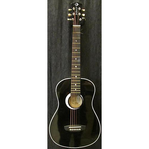 used luna aur mpd1 bls black acoustic guitar guitar center. Black Bedroom Furniture Sets. Home Design Ideas
