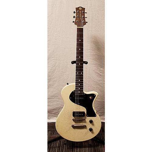 In Store Used Used La Grange The Wheel Vinatge White Solid Body Electric Guitar