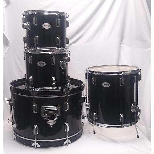 In Store Used Used Legion 4 piece Drum Set Black Drum Kit