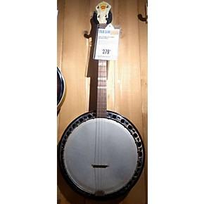 used leo master tenor natural banjo guitar center. Black Bedroom Furniture Sets. Home Design Ideas