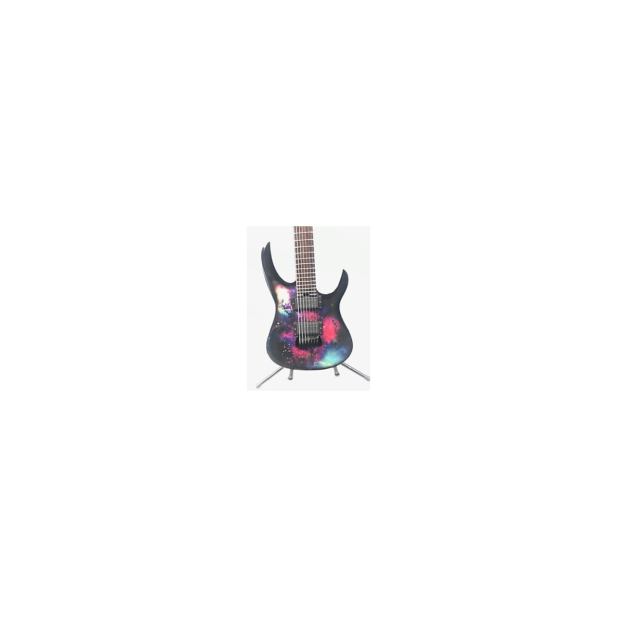 In Store Used Used Lionheart Custom Shop 7 String Space Design Solid Body Electric Guitar