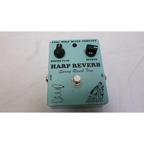 In Store Used Used Lone Wolf Blues Co Harp Reverb Effect Pedal