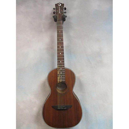 In Store Used Used Luna Gypsy Parlor Mahogany Acoustic Guitar